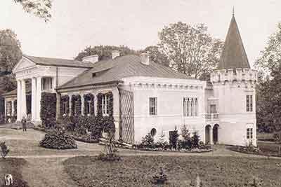 Pałac w Tarnogórze - czasy przedwojenne