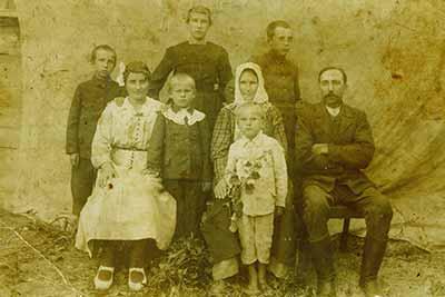 Rodzina Dubaj ok 1920 roku, Piaski Szlacheckie